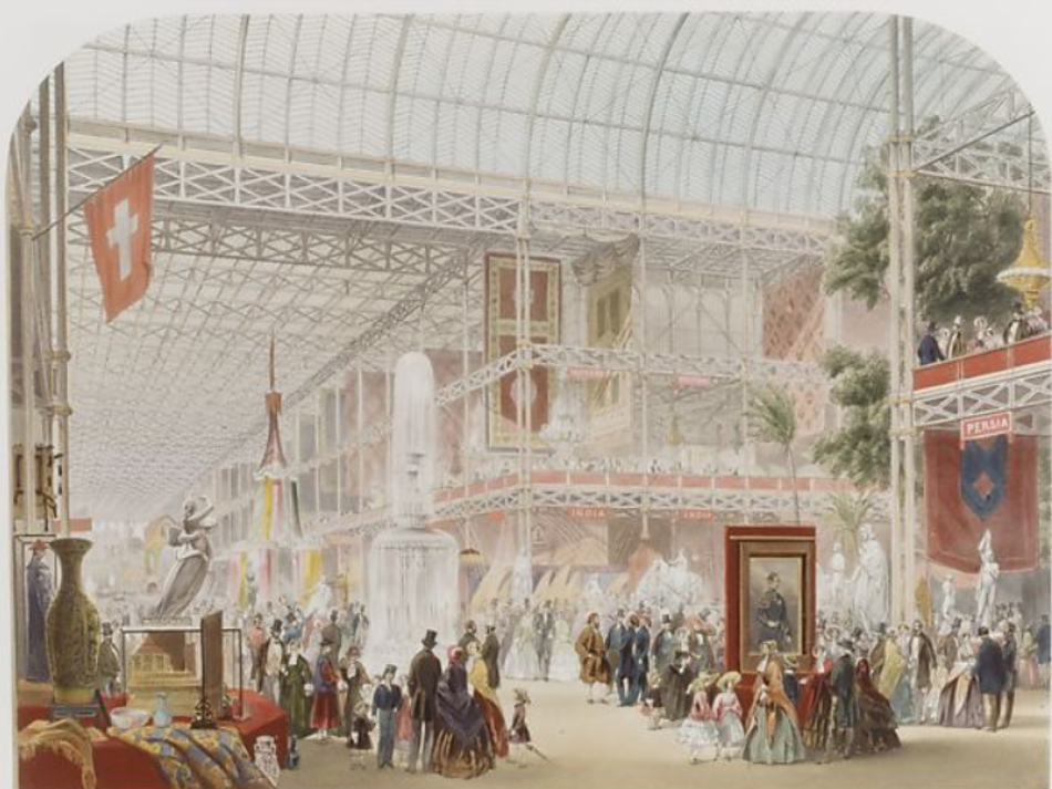 John Absolon, Muzeum Sztuki w Nowym Jorku, wystawa powszechna w Londynie w 1851 r.