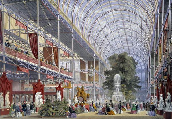Wystawa powszechna w Londynie w 1851 r., Crystal Palace, blog historia, blog historyczny