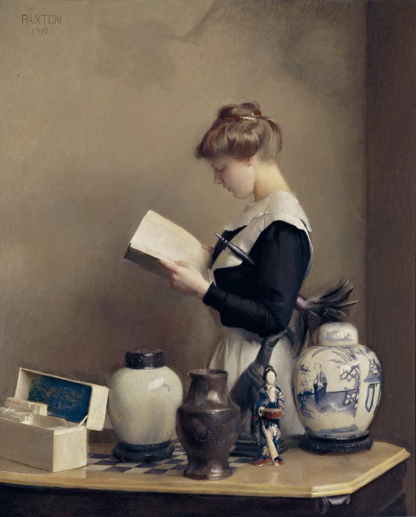 William Paxton, blog historia, blog hiastoryczny, Muzeum Sztuki w Waszyngtonie