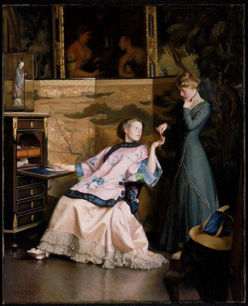 William Paxton, blog historia, blog historyczny, malarstwo amerykańskie XIX w.,